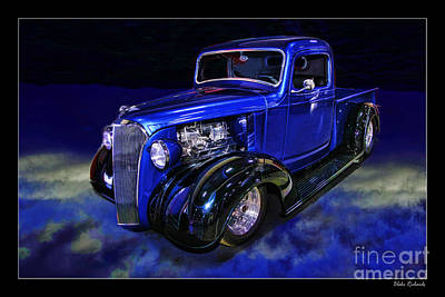 Chev Pickup Photograph - 1937 Chevrolet Pickup Truck by Blake Richards