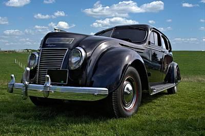 Photograph - 1937 Chrysler Airflow Sedan by Tim McCullough