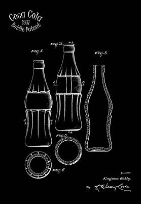 Food And Beverages Photograph - 1937 Coca Cola Bottle by Mark Rogan
