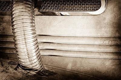 Photograph - 1937 Cord 812 Phaeton Side Pipe by Jill Reger