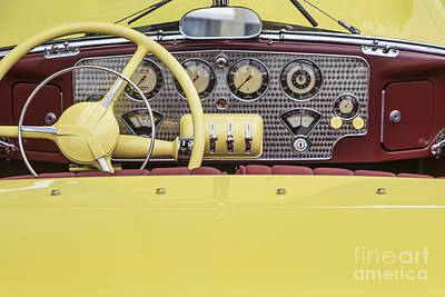 Photograph - 1937 Cord Dash by Dennis Hedberg