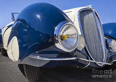 Photograph - 1937 Delahaye by Dennis Hedberg