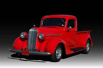 Photograph - 1937 Dodge Pickup Truck by Tim McCullough