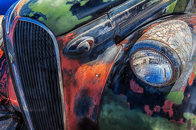 Photograph - 1937 Dodge by Thomas Hall