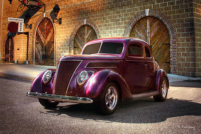 Photograph - 1937 Ford by Andrea Kelley