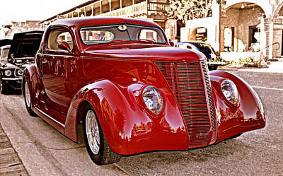 Photograph - 1937 Ford Cabriolet Classic by Glenn McCarthy