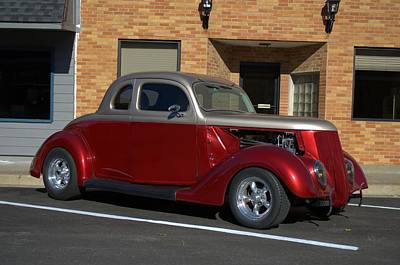 Photograph - 1937 Ford Coupe Hot Rod Early Version by Tim McCullough