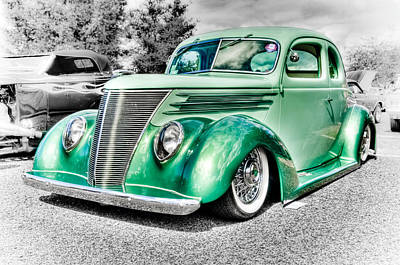 Aotearoa Photograph - 1937 Ford Coupe by Phil 'motography' Clark