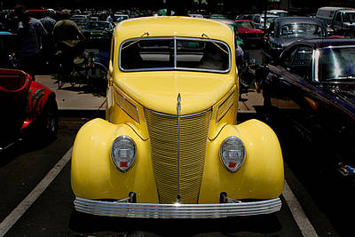 Photograph - 1937 Ford  by John Orsbun