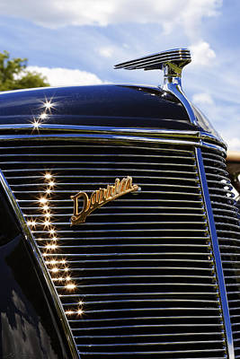 1937 Ford Model 78 Cabriolet Convertible By Darrin Print by Gordon Dean II