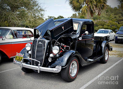 1937 Ford Pick Up Art Print