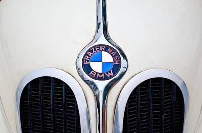 1937 Frazer Nash-bmw 328 Hood Emblem Art Print by Jill Reger