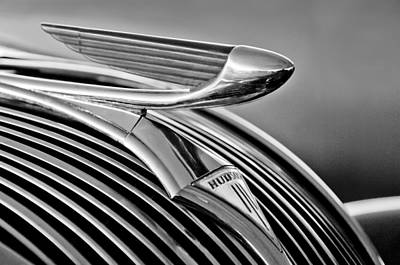 Photograph - 1937 Hudson Terraplane Sedan Hood Ornament 3 by Jill Reger