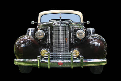 Photograph - 1937  La Salle 4 Door Sedan by Jack Pumphrey