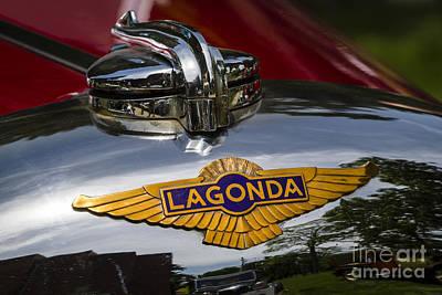 1937 Lagonda Print by Dennis Hedberg