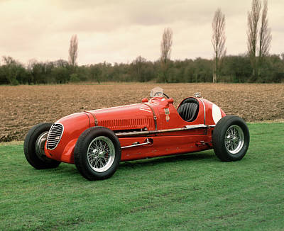 Historic Car Photograph - 1937 Maserati 6cm 1.5 Litre by Panoramic Images