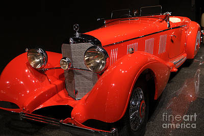 Photograph - 1937 Mercedes Benz Model 540k Mayfair Special Roadster Dsc2608 by Wingsdomain Art and Photography