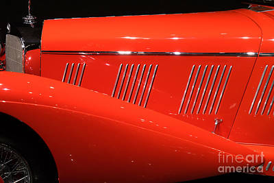 Photograph - 1937 Mercedes Benz Model 540k Mayfair Special Roadster Dsc2610 by Wingsdomain Art and Photography