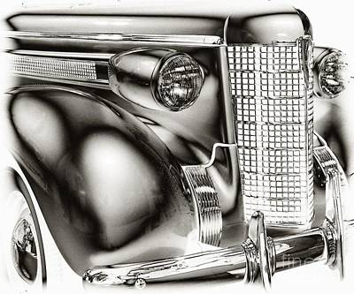 Art Print featuring the photograph 1937 Olds by JRP Photography