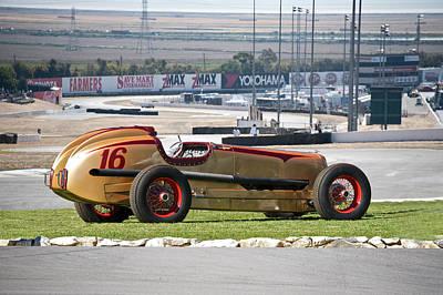 Automotive Art Series Wall Art - Photograph - 1937 Packard Custom Indy Conversion by Dave Koontz