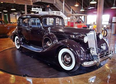 Photograph - 1937 Packard by Glenn McCarthy Art and Photography