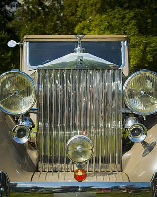 Photograph - 1937 Rolls Royce Phantom II Sedanca Coupe By Barker by Jack R Perry
