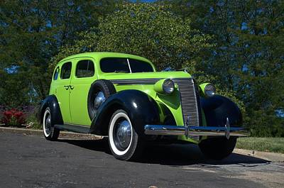 Photograph - 1937 Studebaker 4 Door Sedan by Tim McCullough