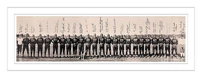 1937 Photograph - 1937 Washington Redskins Team Photo by Unknown
