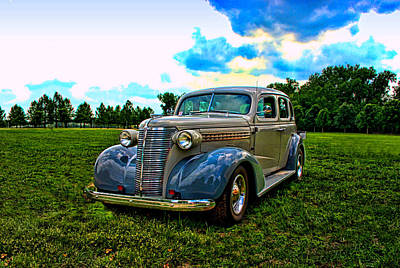 Photograph - 1938 Chevrolet 4 Door Sedan by Tim McCullough