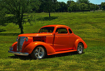 Photograph - 1938 Chevrolet Coupe Hot Rod by Tim McCullough