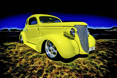 1938 Chevrolet Coupe Art Print by motography aka Phil Clark