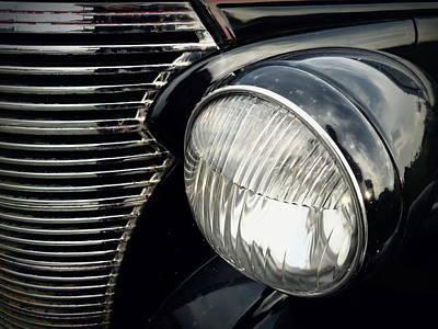 Photograph - 1938 Chevrolet Deluxe Sedan by Joseph Skompski
