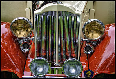 Photograph - 1928 Classic Packard 443 Roadster by Thom Zehrfeld