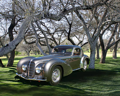 1938 Delahaye 145 Coupe At Tubac Resort Original