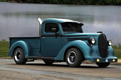 Photograph - 1938 Ford Pickup Truck Hot Rod by Tim McCullough