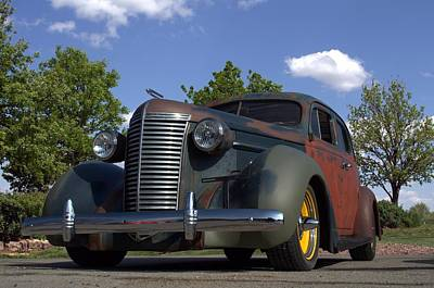 Photograph - 1938 Nash Lafayette Sedan by Tim McCullough