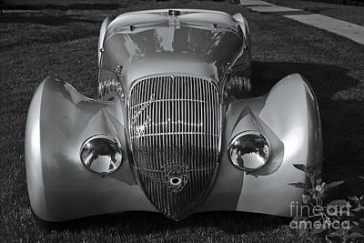 Photograph - 1938 Peugeot Roadster by Dennis Hedberg