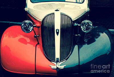 1938 Plymouth Deluxe  Art Print by Steven Digman