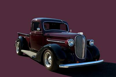 Photograph - 1938 Plymouth Hot Rod Pickup Truck by Tim McCullough