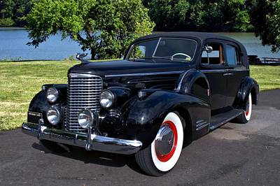 Photograph - 1939 Cadillac 9059 Formal Limousine by Tim McCullough