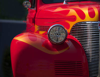 Pittsburgh According To Ron Magnes - 1939 Chevrolet Coupe by Dave Koontz
