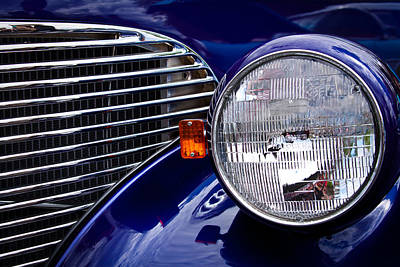 Chevy Coupe Photograph - 1939 Chevrolet Coupe by David Patterson