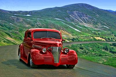 Photograph - 1939 Chevrolet Coupe by Tim McCullough