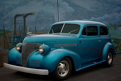 Photograph - 1939 Chevrolet Sedan Street Rod by Tim McCullough