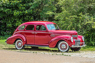 Photograph - 1939 Chrysler Royal 4 Door Sedan by Barry Jones