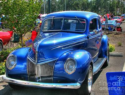 Photograph - 1939 Ford by Chris Anderson