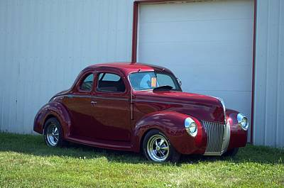 Photograph - 1939 Ford Coupe by Tim McCullough