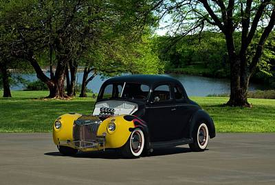Photograph - 1939 Ford Hot Rod by Tim McCullough