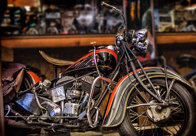 Photograph - 1939 Indian Chief by Steve Benefiel