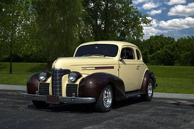 Photograph - 1939 Oldsmobile Coupe Hot Rod by Tim McCullough